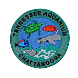 "Souvenir Travel Patch ""Tennessee Aquarium Chattanooga"" Aquatic Iron-On Applique offers"
