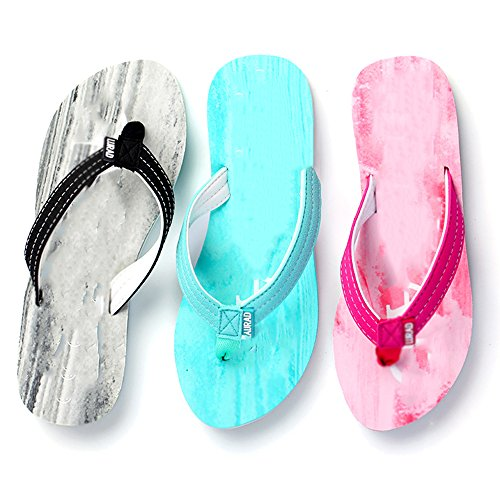 Zapatillas Y Zapatillas Plano Sandalias Clip Color Sandalias Señoras Coreana Versión tamaño Antideslizante Madera Gruesas Color Shoes Verano opcional Bottom Grano Beach Verano 02 Moda 01 Arrastrar z7nqx8PxO