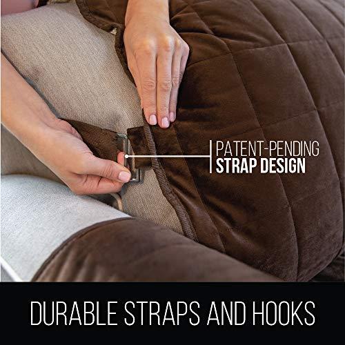Miraculous Gorilla Grip Original Velvet Slip Resistant Luxurious Andrewgaddart Wooden Chair Designs For Living Room Andrewgaddartcom