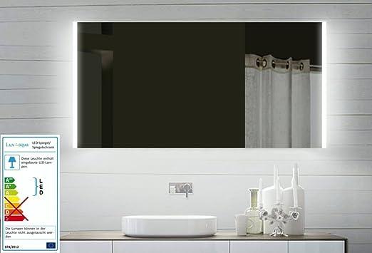 Top led specchio del bagno specchio luce 120 centimetri: amazon.it ...