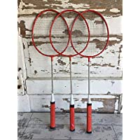 Badminton Racquet Set of 2 with Free ONE 1 Racquet