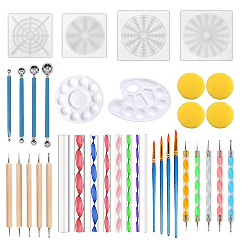 SNOWINSPRING 36 Pieces of Mandala Dot Painting Tool, used for sale  Delivered anywhere in Canada