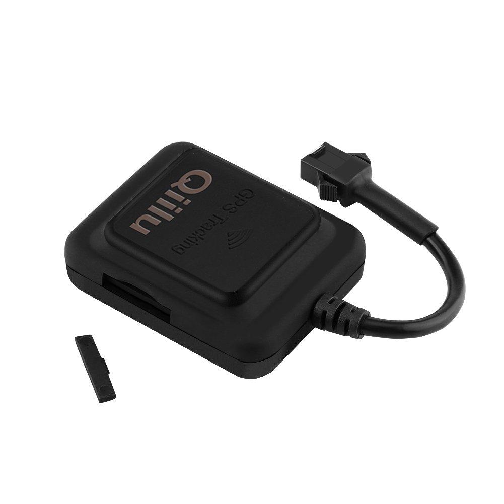 Qiilu GPS GPS per auto in tempo reale Moto Tracker Phone SMS Global Locator Sistema di localizzazione dei veicoli 4332816914