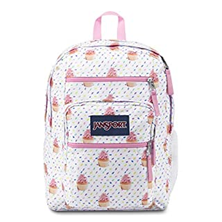 JanSport Big Student Backpack - 15-inch Laptop School Pack, Cupcakes