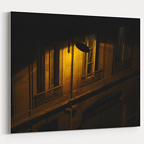 Westlake Art - Light Night - 16x20 Canvas Print Wall Art - Canvas Stretched Gallery Wrap Modern Picture Photography Artwork - Ready to Hang 16x20 Inch (CBFC-6B0C4) -