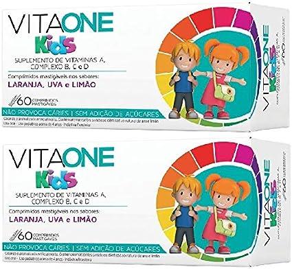 Oferta Vitaone kids 60 cápsulas criança sabor 2 caixas