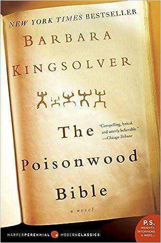 The Poisonwood Bible: A Novel: Kingsolver, Barbara: 9780060786502:  Amazon.com: Books