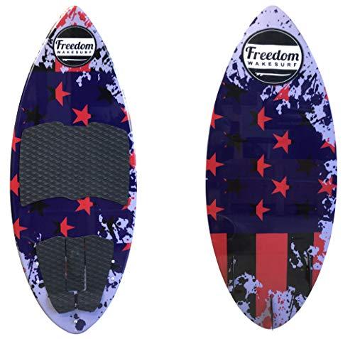 freedom wakesurf Patriot Skim surf Board 4' 4