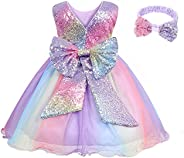 AmzBarley Flower Baby Little Girl Tutu Tulle Dress Lace Birthday Party Wedding