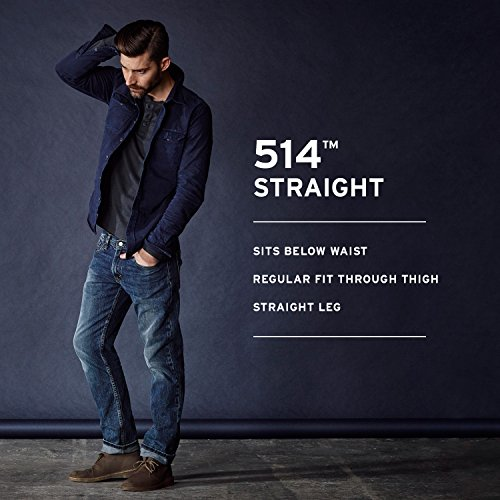 2018 sneakers new list sold worldwide Levi's Men's 514 Straight Fit Jeans