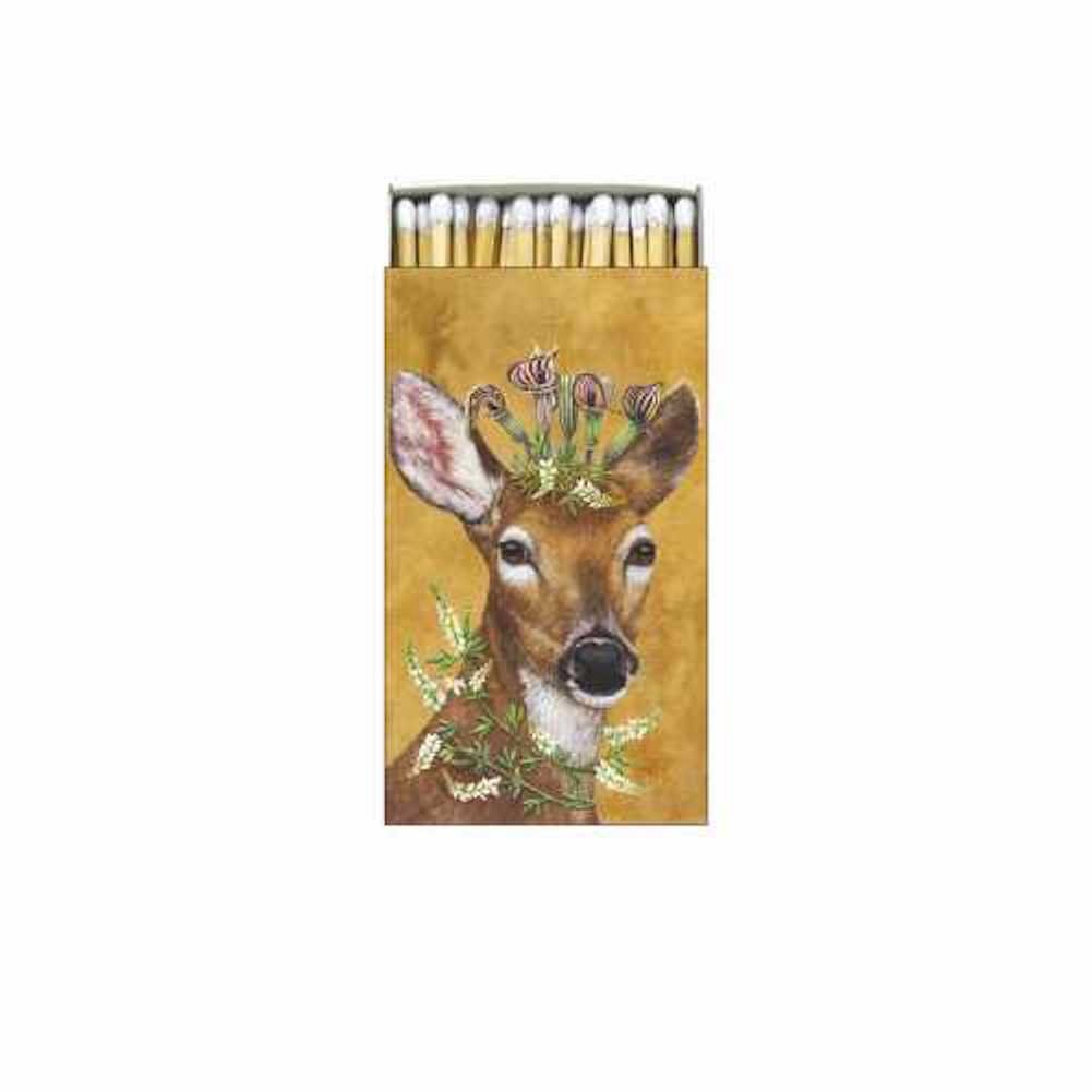 Paperproducts Design Gift Boxed Matches with Woodland Princess Design Ppd, Multicolor