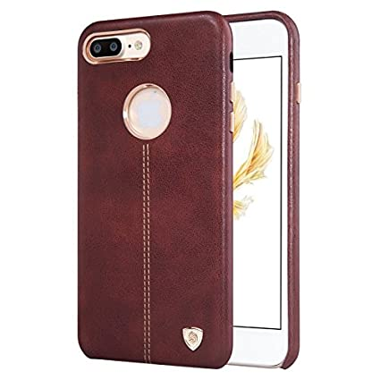 the latest 36b3e 5114f Nillkin Englon Series Leather Back Luxury Case Cover For Apple Iphone 7  Plus [5.5
