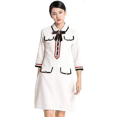Ababalaya Damen Elegant Abendkleid 3/4-Arm Knielang Etuikleid Partykleid Business Work Pencil Kleider