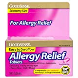 Best Allergy Medicines - GoodSense Allergy Relief, Diphenhydramine HCL Antihistamine, 25 mg Review