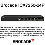 Brocade Communication Systems - T - ICX7250-24P-2X10G