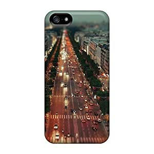 High Quality Shock Absorbing Case For Iphone 5/5s-the Avenue Des Champs Elysees