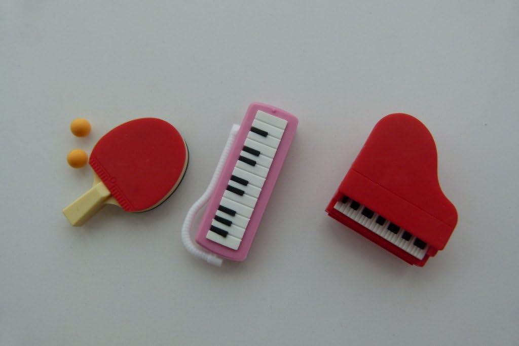 Iwako 3 habitaciones escolares 2 - Ping Pong, teclado y piano ...