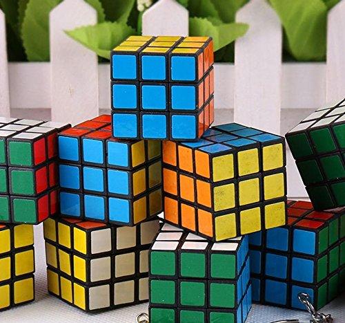 Magic Cube Puzzle - Llavero de Juguete (12 Unidades), niños ...