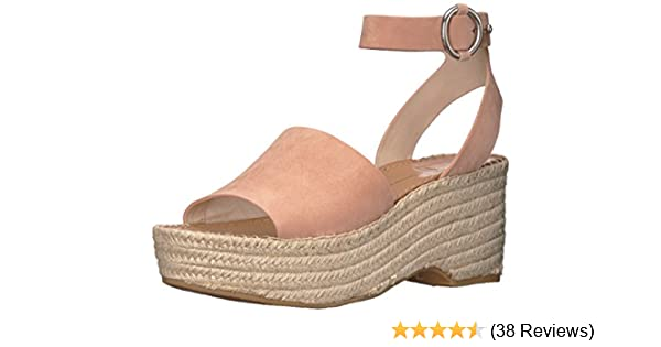 b346e4340c Amazon.com: Dolce Vita Women's Lesly Espadrille Wedge Sandal, Rose Suede, 7  M US: Shoes