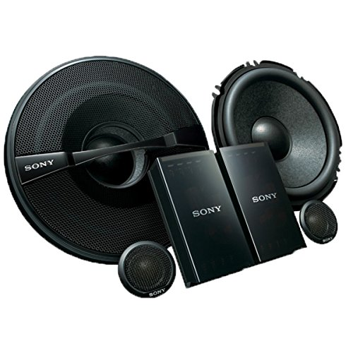 Sony XSGS1621C GS Series 6.5-Inch 2-Way Component Speakers, Set of (Sony 1 Mounting)