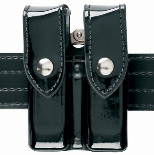 Safariland 72 Magazine/Handcuff Case, Black, High (Safariland Standard Hinge Handcuff)
