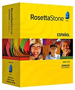 Rosetta Stone Spanish (Latin America) Level 1 & 2 Set with Audio Companion