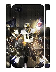 Personalized Stylish Football Men Tough Iphone 4 4S Phone Snap On Case
