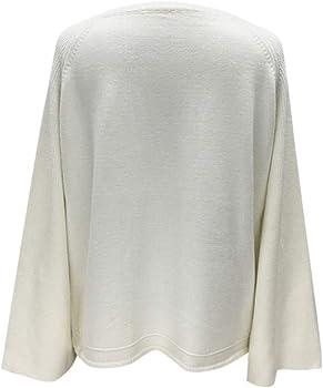 Maglione da Donna Moda Donna Pollo Cuore Scollo a V Manica a