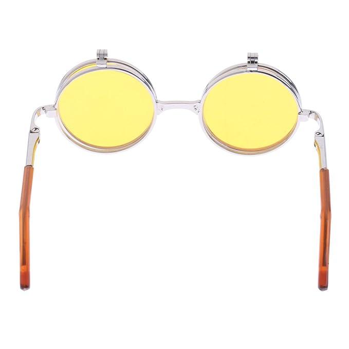 Amazon.es: KESOTO 1/6 Dolls Doblado Doble Gafas Gafas De Sol ...