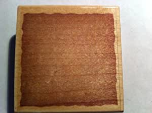 Large Background Block Rubber Stamp