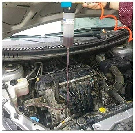 Kit de herramientas de purga de líquido para sistema de freno de coche y camión, aceite hidráulico de embrague de un hombre: Amazon.es: Coche y moto