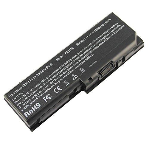 (ARyee 5200mAh 11.1V PA3536U-1BRS Battery Laptop Battery Replacement Toshiba Satellite L355 L355D L350 Equium L350-10L L350D-11D P200 P200-178 PA3536U-1BRS PA3537U-1BAS PA3537U-1BRS PABAS100)