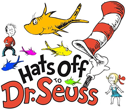 Dr. Seuss and Friends - For Light-Colored Materials - Iron On Heat Transfer 7