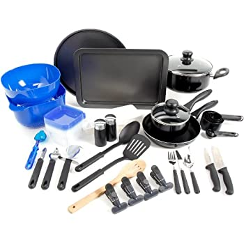 Amazon Com Gibson Home 91923 59 Total Kitchen 59 Piece Combo Set