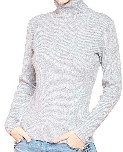 LONGMING Women's Turtleneck Sweater