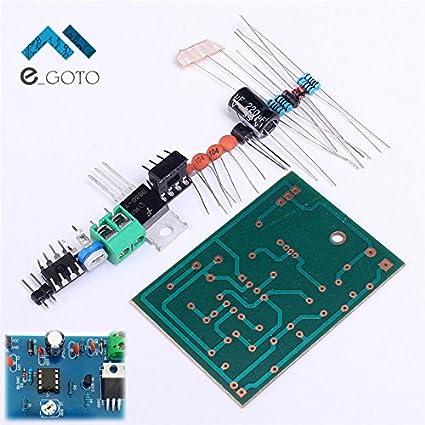 amazon com 5 12v diy kits 555 pulse width modulation speed rh amazon com