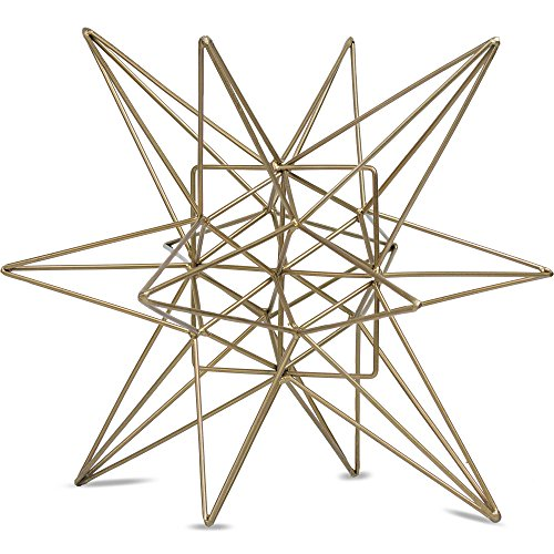 American Art Décor Metal Star Figurine Table Top Décor...
