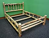 Midwest Log Furniture- Rustic Log Bed – King Review