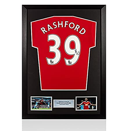 lowest price 6409d 65077 Framed Marcus Rashford Signed Manchester United Shirt ...