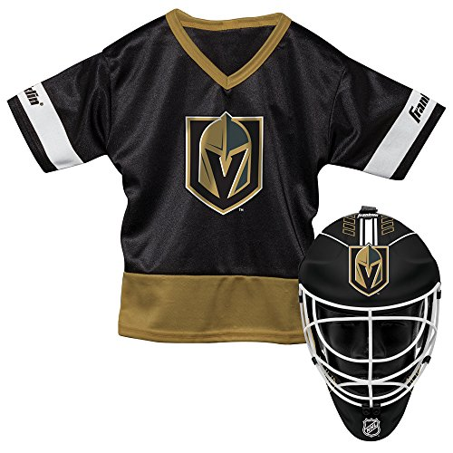 fan products of Franklin Sports NHL Vegas Golden Knights Youth Team Uniform Set, Black, One Size