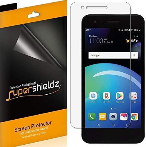 [6-Pack] Supershieldz for LG Phoenix 4 Screen Protector, High Definition Clear Shield + Lifetime - Shield Phoenix
