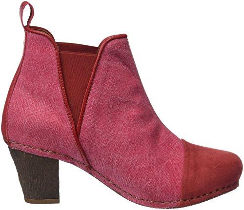 Rouge Meet Art I Ca Wax Classiques Granate Bottes Femme 1272t 1F81I