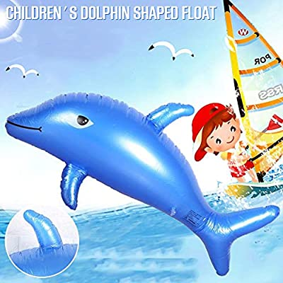 remote.S Alfombra Inflable con Agua Forma De Delfín Azul ...