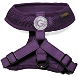 Choke Free Freedom Mesh Harness Specially Made for Small Dogs, Medium, Purple