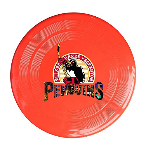 SYYFB Unisex Pittsburgh Ice Hockey Team Logo Outdoor Game Frisbee Game Room Red