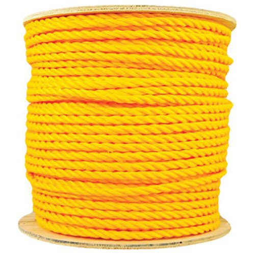 600 Foot Yellow Poly Rope - 8