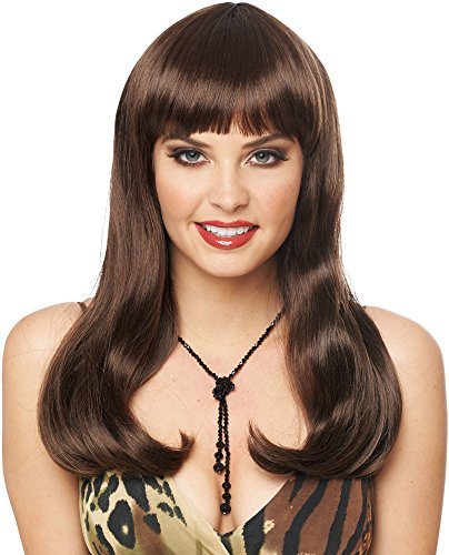 Costume Culture Women's Mistress Wig Deluxe, Brown, One Size Brown Mistress Wig