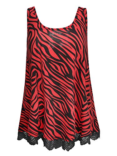 red and black tank top - 8
