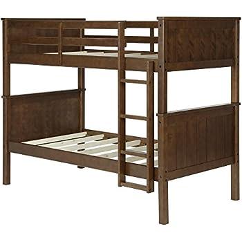Amazon Com Dorel Living Dylan Bunk Bed Twin Espresso