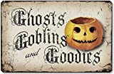 Item 10014 Vintage Style Halloween Pumpkin Plaque